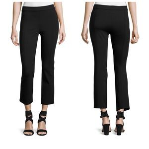 NWT Tory Burch Stacey XS black cropped pants $185